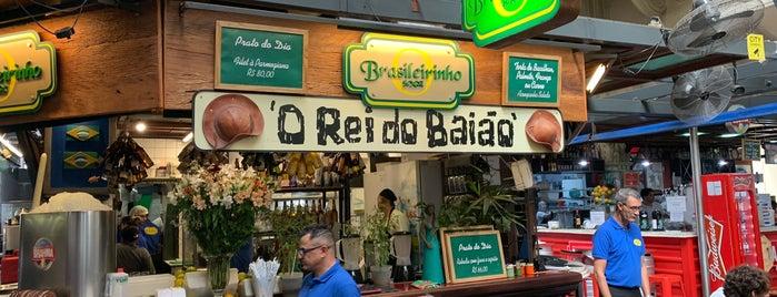 O Rei do Baião is one of comida baiana.