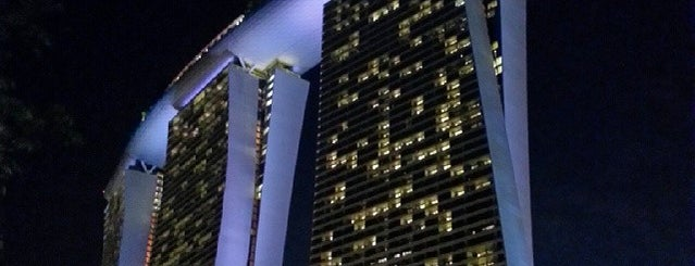 Marina Bay Sands Hotel is one of My Singapore & JB Holiday.