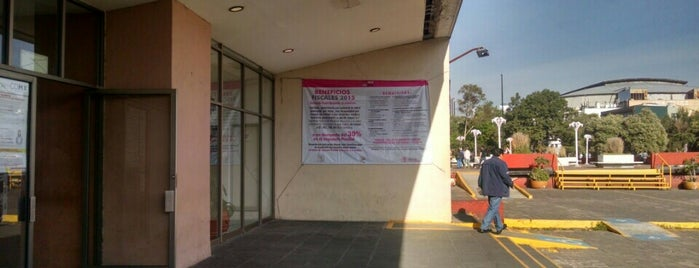 Secretaría de Finanzas del Gobierno de la Ciudad de México is one of Por corregir.
