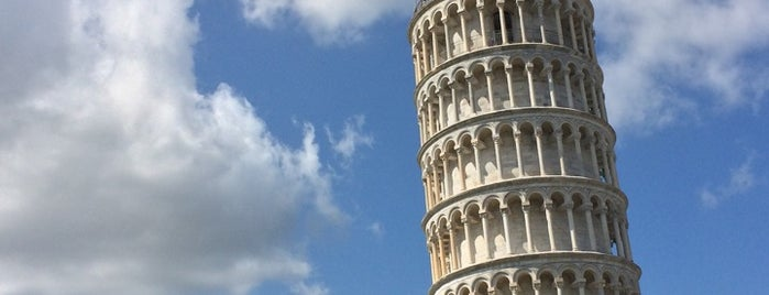 Pisa is one of Tuscany.
