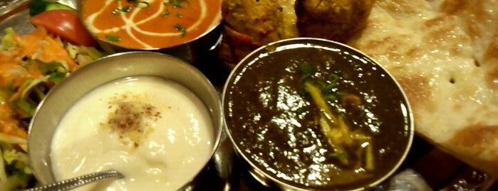 インドカレーとナンの店 ビニータ is one of カレー2.