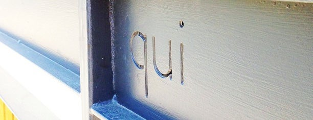 QUI Restaurant is one of Austin Places to Try.
