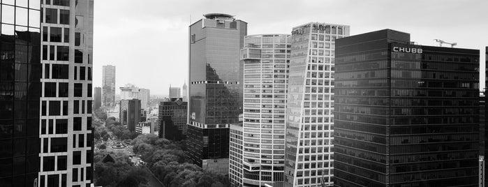 Edificio Reforma 265 is one of Sergio M. 🇲🇽🇧🇷🇱🇷さんのお気に入りスポット.