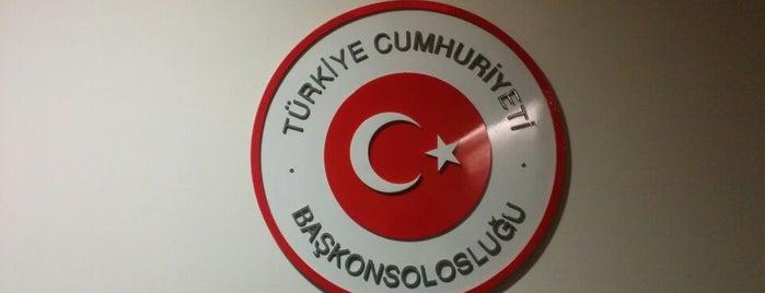 Consulate Generale Of Turkey is one of Handan'ın Kaydettiği Mekanlar.