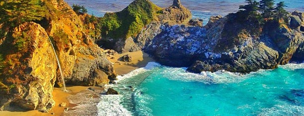 McWay Falls is one of Califórnia.