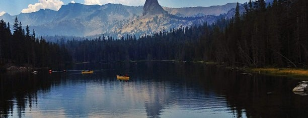 Lake Mary is one of Mammoth Lakes.