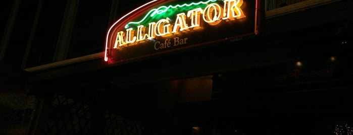 Alligator is one of I've been there.