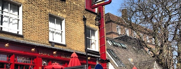 The Duke of Hamilton is one of London's Best Pubs (voted by Londonist readers).