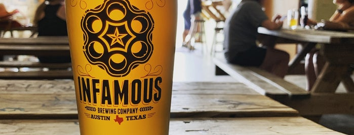 Infamous Brewing Company is one of Jamey'in Beğendiği Mekanlar.