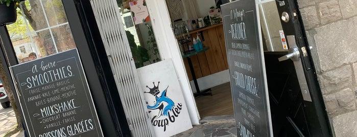 Le Loup Bleu is one of Mtl - Crème glacée.