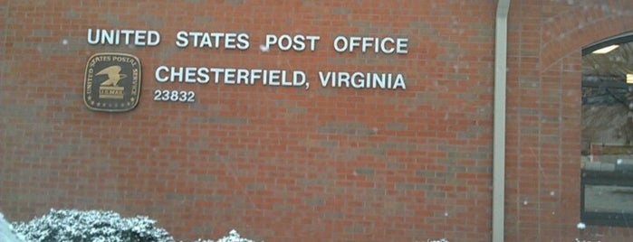 Chesterfield Post Office is one of Locais curtidos por Robin.