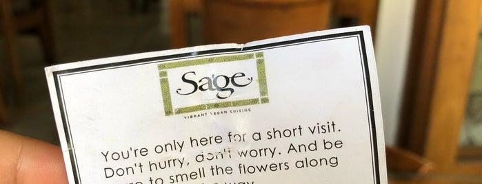Sage is one of สถานที่ที่ Sarah ถูกใจ.