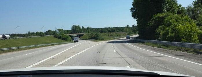 I-16/I-75 Split is one of Macon & Forsyth.
