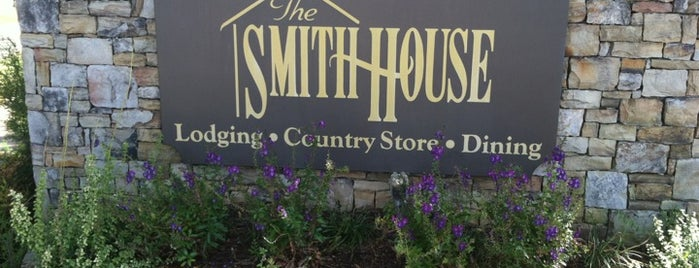 The Smith House is one of 500 Things to Eat & Where - South.