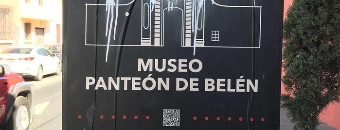 Museo Panteón Santa Paula de Belén is one of To try.
