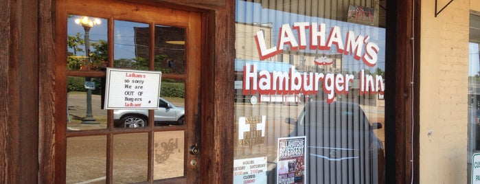 Latham's Hamburger Inn is one of Seth'in Kaydettiği Mekanlar.