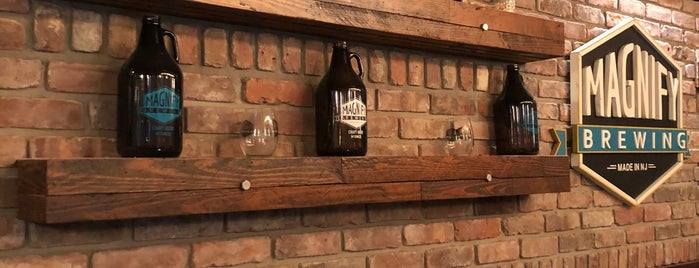Magnify Brewing is one of Locais salvos de Lizzie.