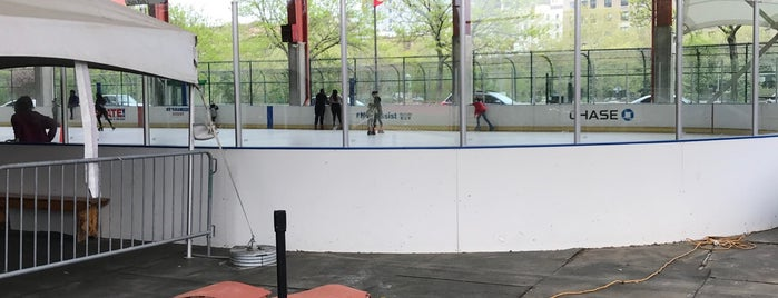 Ice Rink At Riverbank State Park is one of Ice Skating Rinks - NYC.