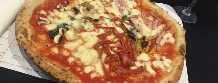 NAP Neapolitan Authentic Pizza is one of comer.