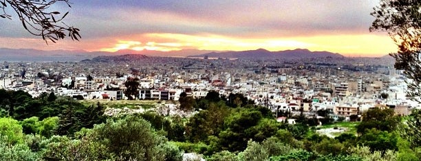 Philopappos Hill is one of places...