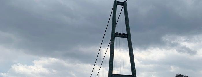 もみじ谷大吊橋 is one of Tempat yang Disukai ジャック.