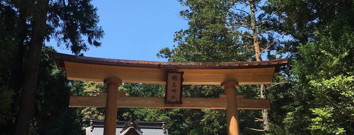 穂高神社 is one of Lugares favoritos de ジャック.