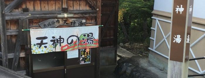湯ノ花温泉 天神湯 is one of สถานที่ที่ ジャック ถูกใจ.