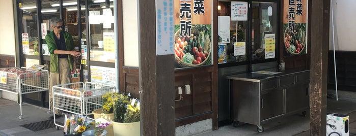 道の駅 信州蔦木宿 is one of Tempat yang Disukai ジャック.