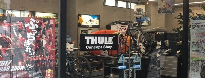 THULE Consept Shop is one of Locais curtidos por ジャック.