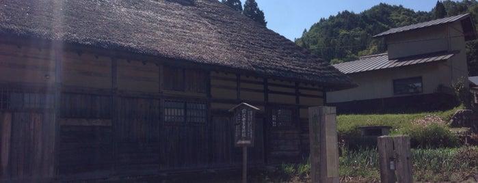 前沢曲家集落 is one of Orte, die ジャック gefallen.