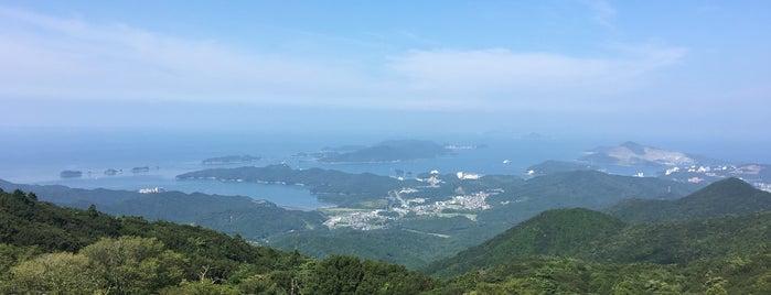 朝熊山 展望台 is one of Lugares favoritos de ジャック.
