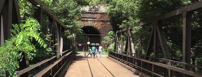 大日影トンネル遊歩道 is one of Lieux qui ont plu à ジャック.