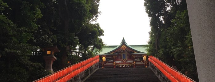Sanno-Hie Shrine is one of Lugares favoritos de ジャック.
