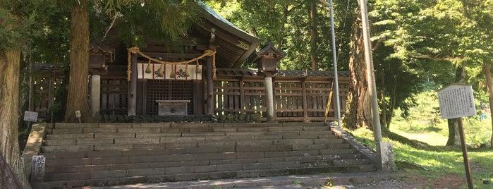 諏訪大社 上社前宮 本殿 is one of ジャック : понравившиеся места.