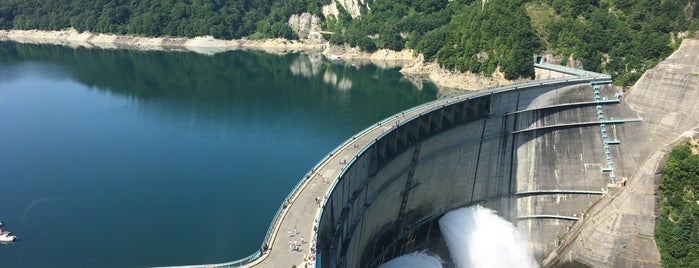 Kurobe Dam is one of Lugares favoritos de ジャック.