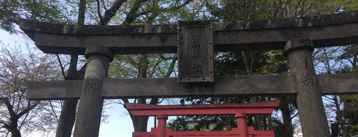 鶴ヶ城稲荷神社 is one of Orte, die ジャック gefallen.