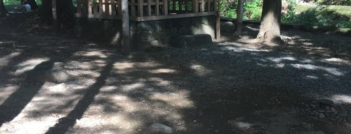 浮島神社 is one of Tempat yang Disukai ジャック.