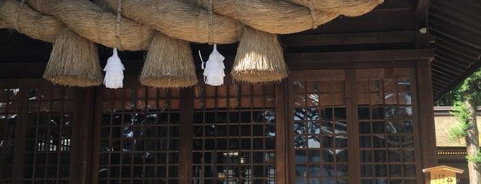 諏訪大社 下社春宮 神楽殿 is one of สถานที่ที่ ジャック ถูกใจ.