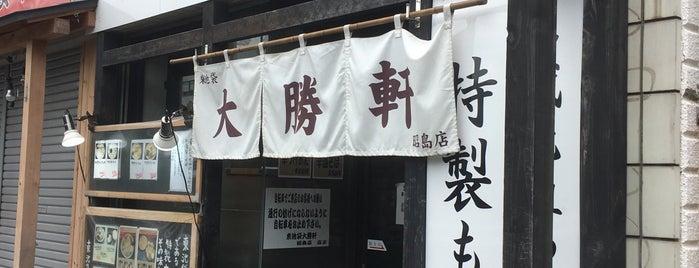 東池袋大勝軒 昭島店 is one of Lugares favoritos de ジャック.