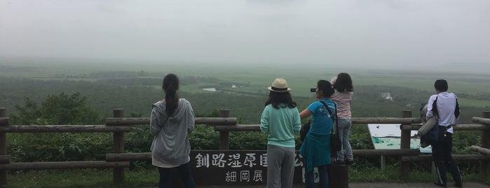 釧路湿原国立公園 細岡展望台 is one of ジャック'ın Beğendiği Mekanlar.