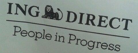 ING Direct is one of Tempat yang Disukai Jonatan.