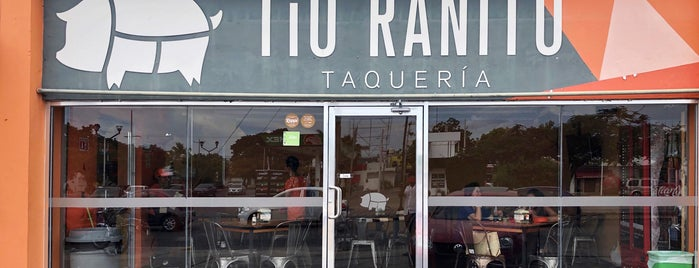 TíO RANITO TAQUERIA is one of Mérida Restaurant Week.