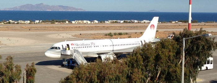 Santorini National Airport (JTR) is one of Greece.