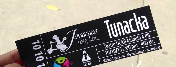 Teatro UCAB is one of Lugares Visitados.
