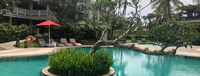 Pool Side @ Sheraton Bandung Hotel & Towers is one of Arie : понравившиеся места.