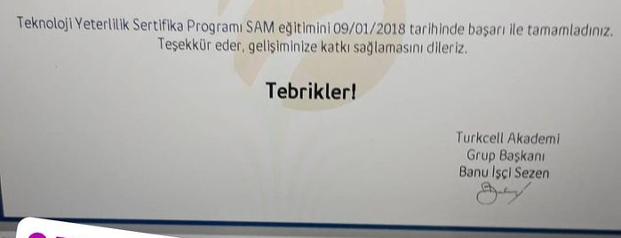 Turkcell Superonline -Fibernet İstanbul is one of Lugares guardados de Gizemli.