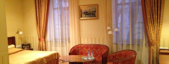Камердинеръ Отель is one of Места для онлайн-трансляции.