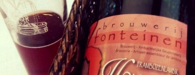 3 Fonteinen Restaurant-Café is one of Beer / RateBeer Best in Belgium.