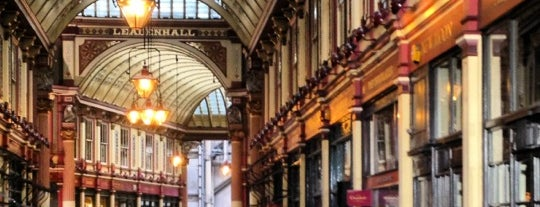 Leadenhall Market is one of UK Film Locations.