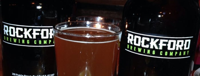 Rockford Brewing Co. is one of Posti salvati di Derek.